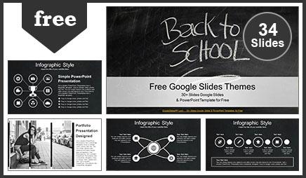 Back to School Education Google Slides Theme
