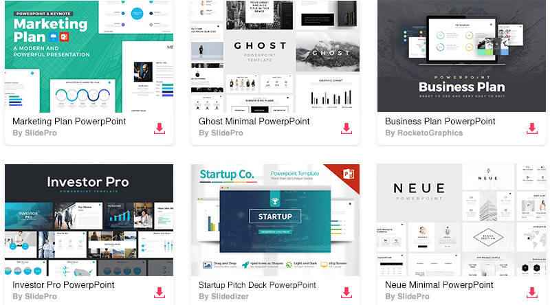 The 55 best free powerpoint templates of 2018 updated every free minimal powerpoint template toneelgroepblik Gallery