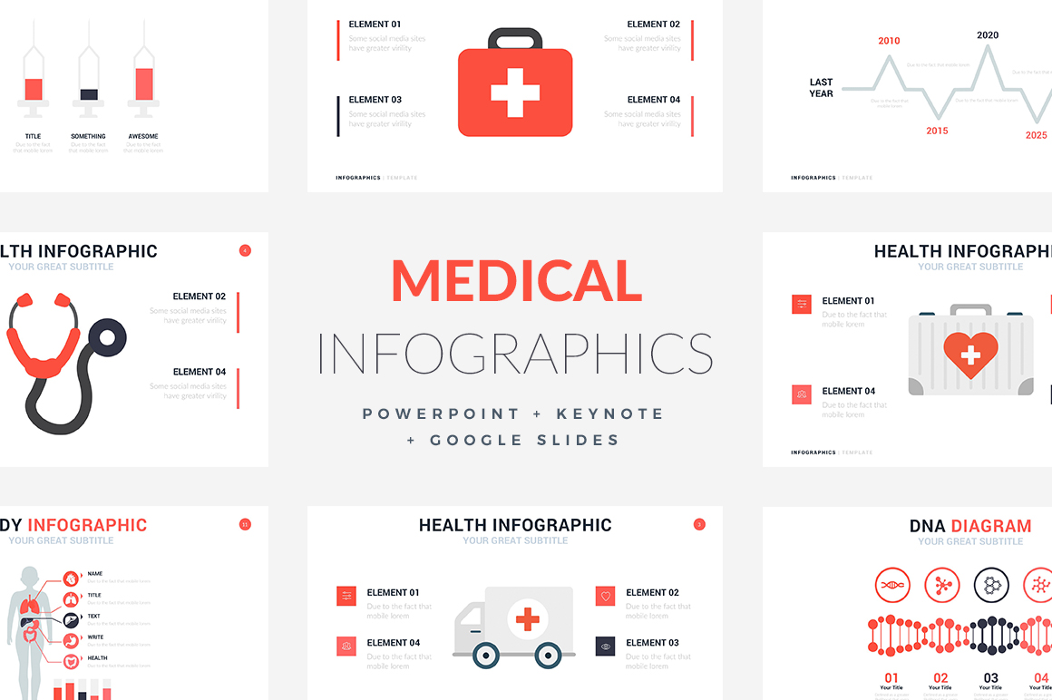 16 medical infographic templates powerpoint keynote google slides medical infographic templates powerpoint templates keynote themes google slides toneelgroepblik Choice Image