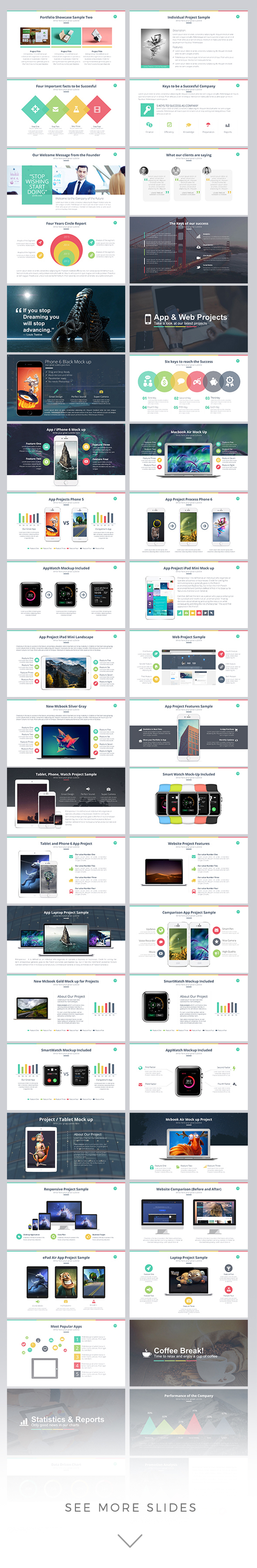 marketer powerpoint template