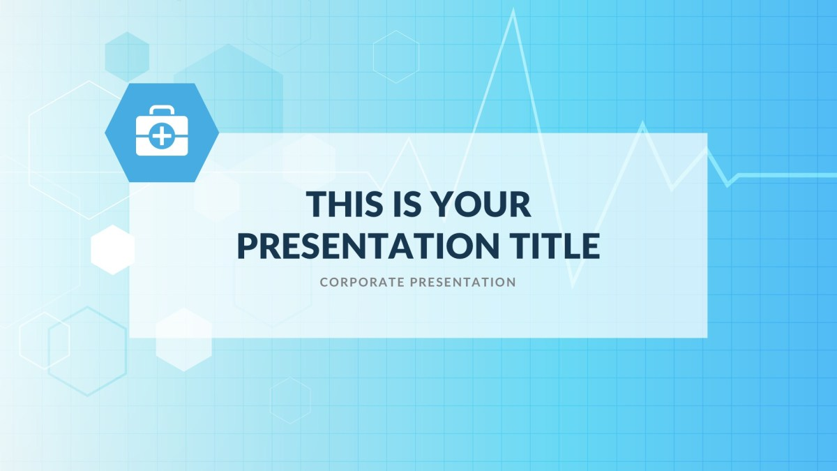 alpha medical free powerpoint template google slides keynote