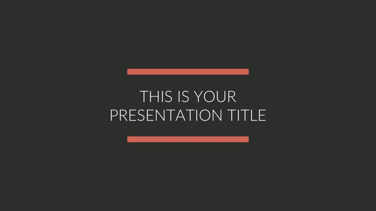 01 BLK Business Free PowerPoint Template Keynote Theme Google Slides