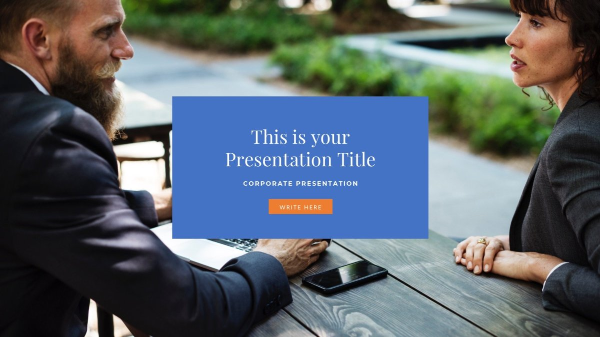 01 Master Business Free PowerPoint Template Keynote Theme Google Slides