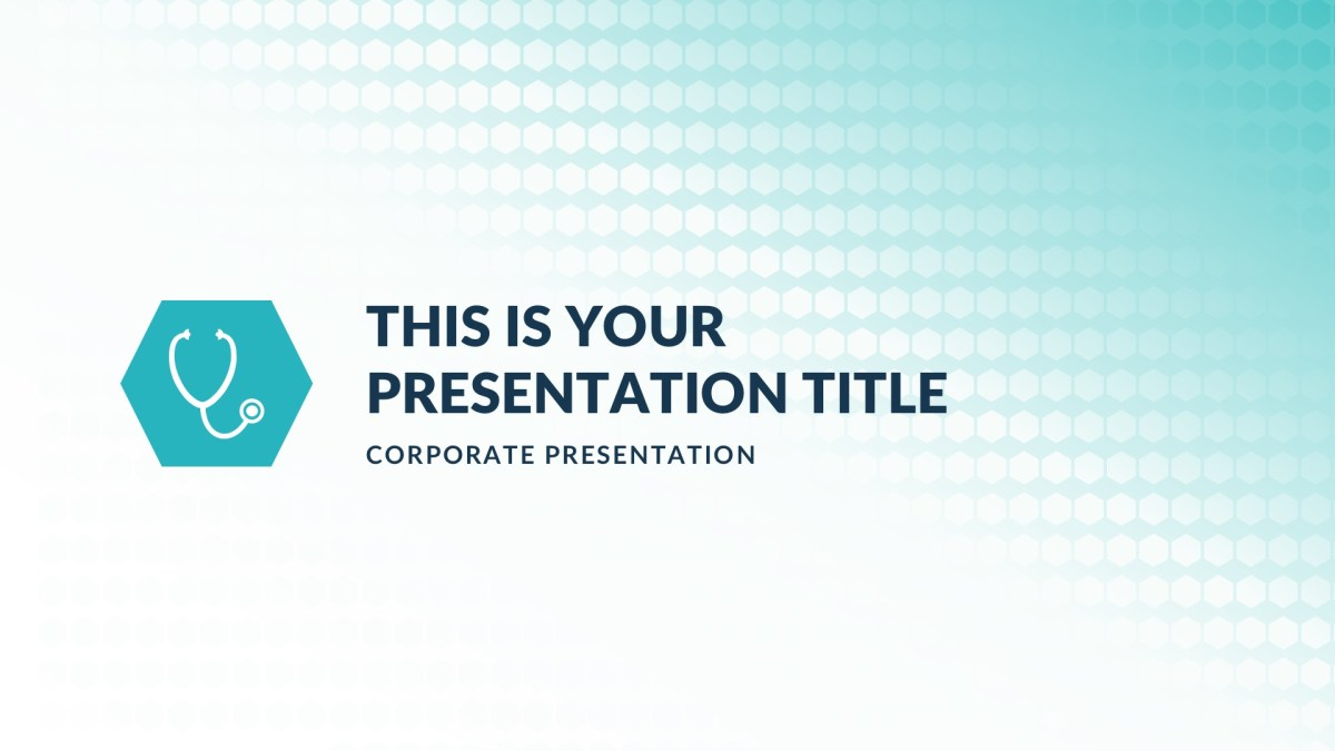 the medical free powerpoint template keynote theme google slides