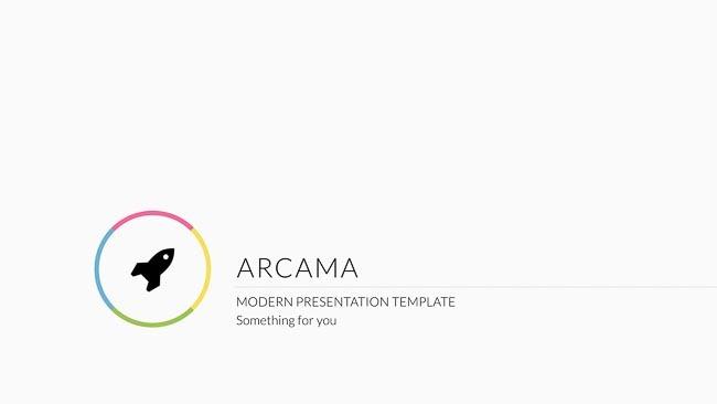 Arcama - Keynote Presentation Template