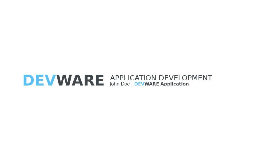 DEVWARE | 33 Pages | Keynote Presentation