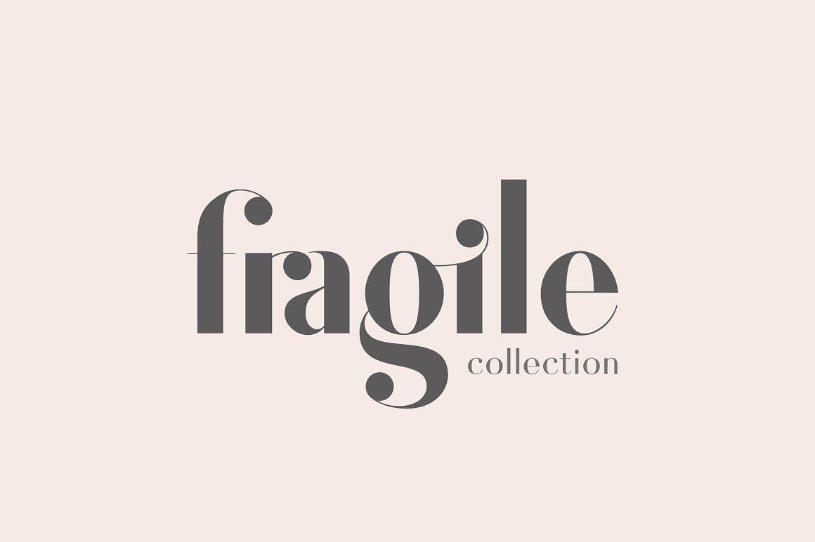 Fragile Collection (Font Bundle)