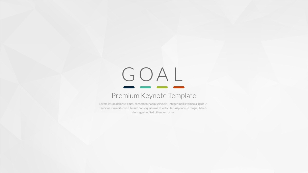 Goal | Keynote Presentation