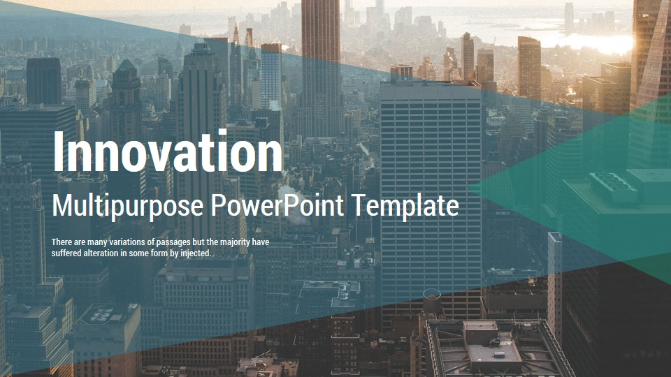 Innovation Multipurpose Google Slides Presentation Template