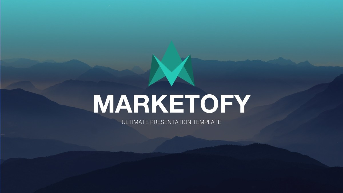 Marketofy - Ultimate Google Slides Template