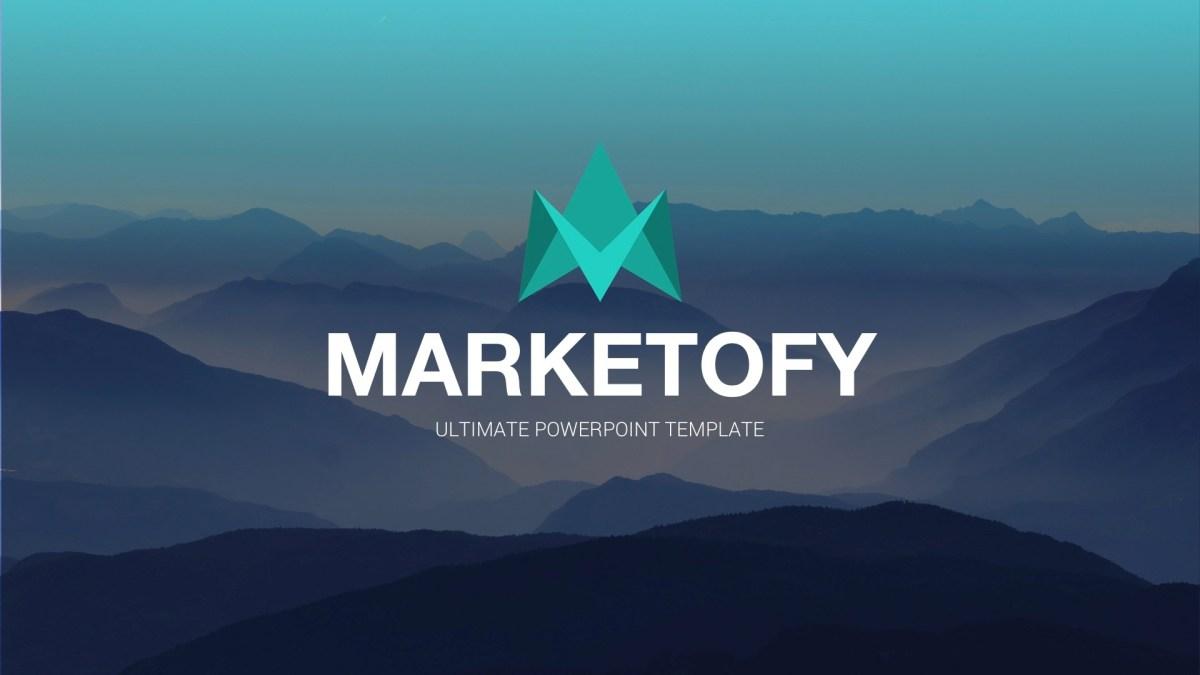 Marketofy - Ultimate Keynote Template