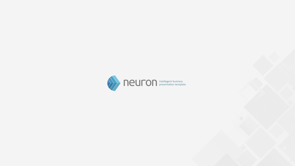 Neuron Keynote Presentation Template