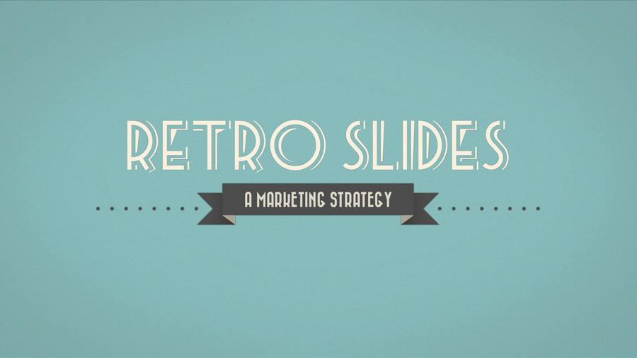 Retro Slides - Keynote Template (Full HD)