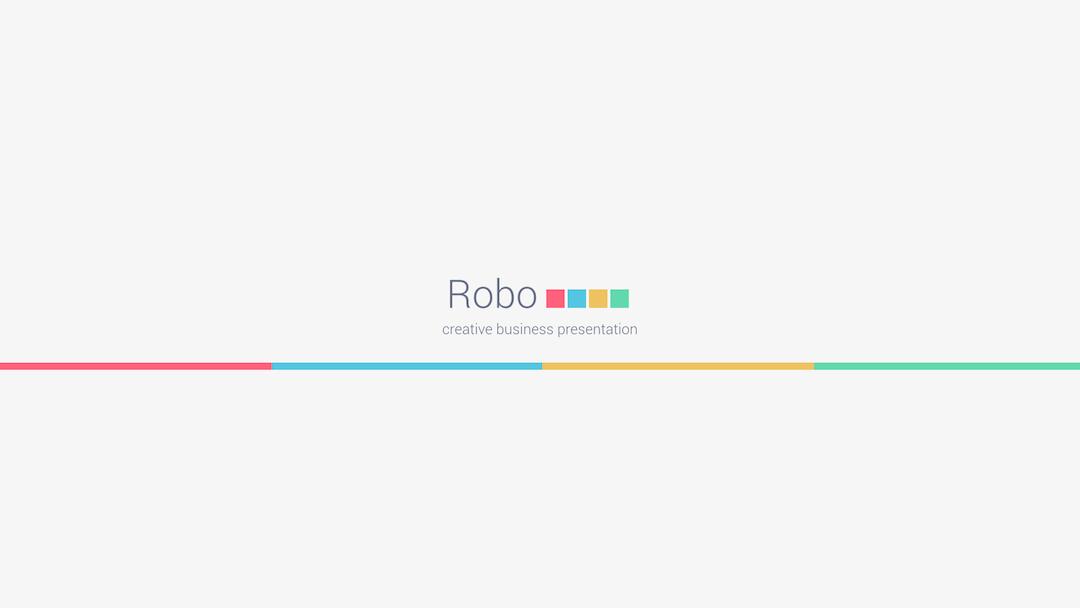 Robo Keynote Presentation Template