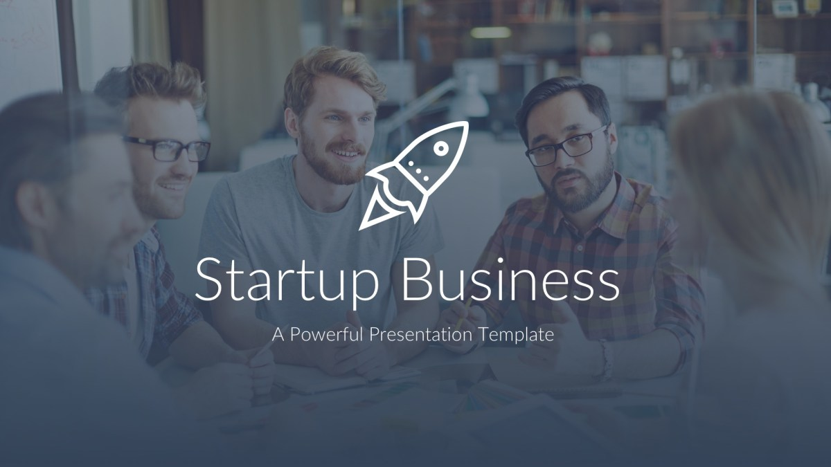 Startup Business Pitch Deck Google Slides Template