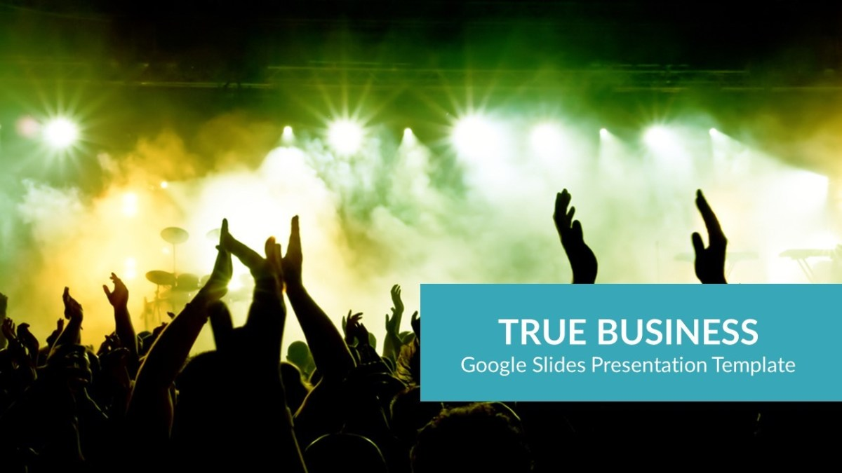 True Business Google Slides Presentation