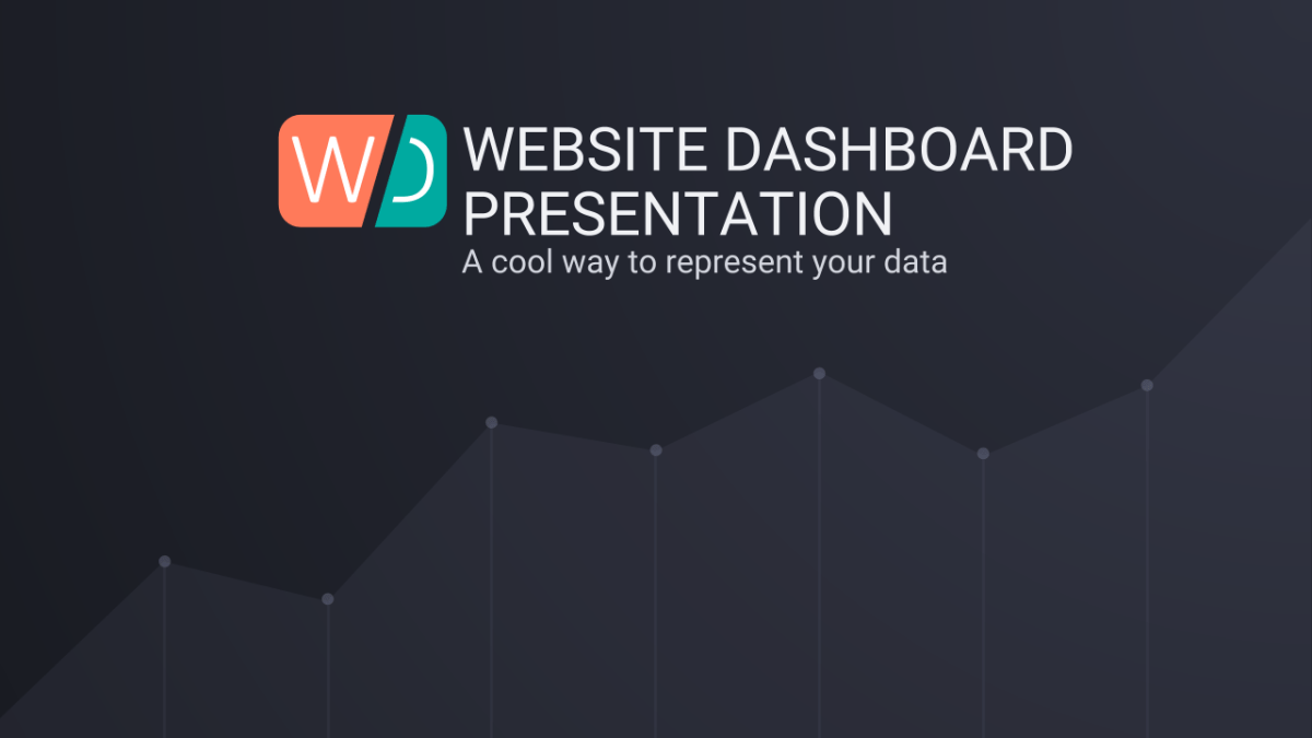 Website Dashboard Google Slides Presentation