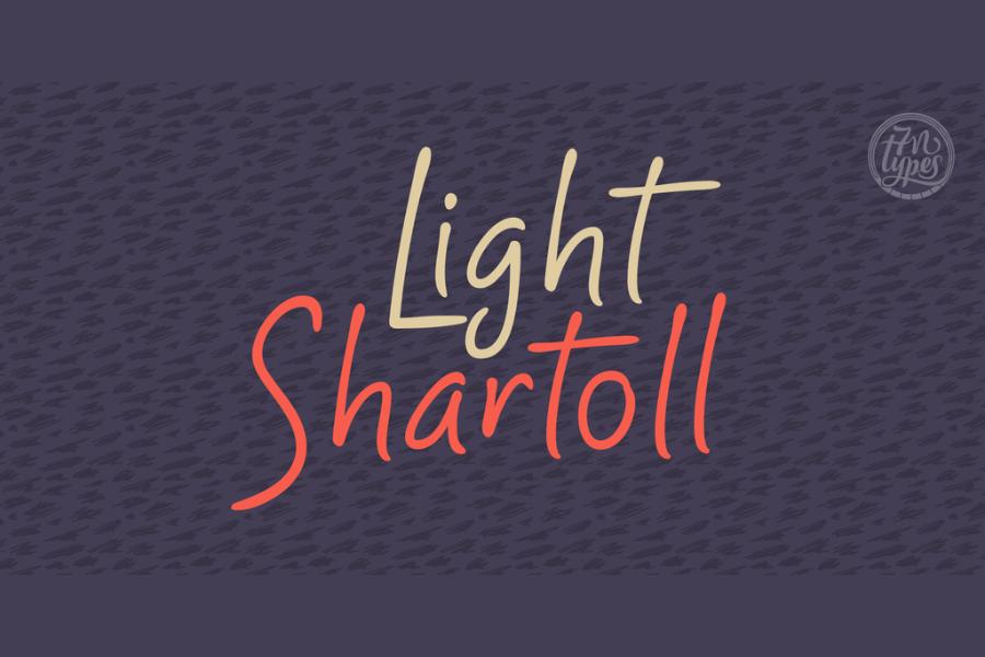 Shartoll Light Free font