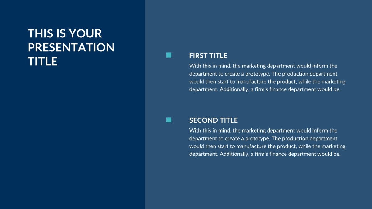 Corp Business Free PowerPoint Template, Keynote Theme, Google Slides