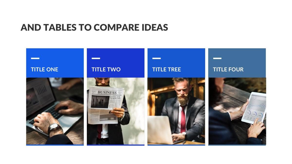 Creek Business Free PowerPoint Template, Keynote Theme, Google Slides