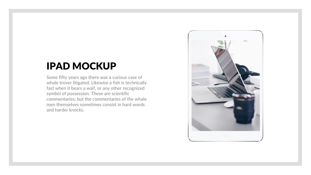 MNML Business Free PowerPoint Template, Keynote Theme, Google Slides