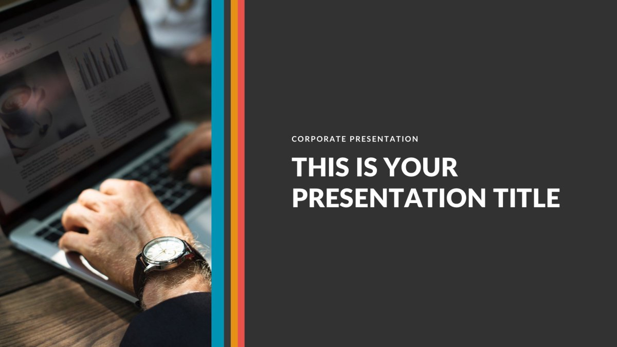 Retro Business Free PowerPoint Template