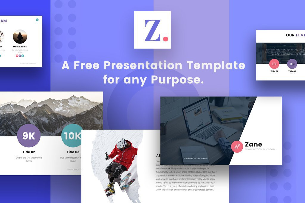 Zane Free PowerPoint Template