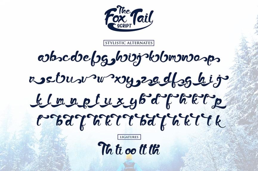 04 - Fox Trail Script Free Font Demo