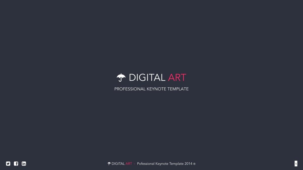 Digital Art PowerPoint Template
