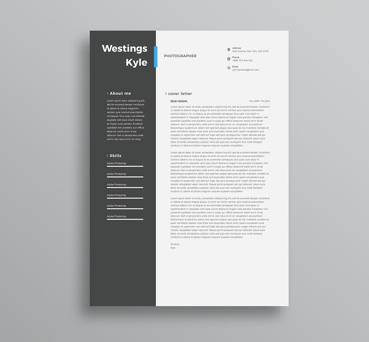 2018 Professional Resume Templates: 75 Best Free Resume Templates Of 2019