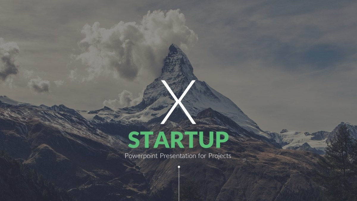 Startup X PowerPoint Template