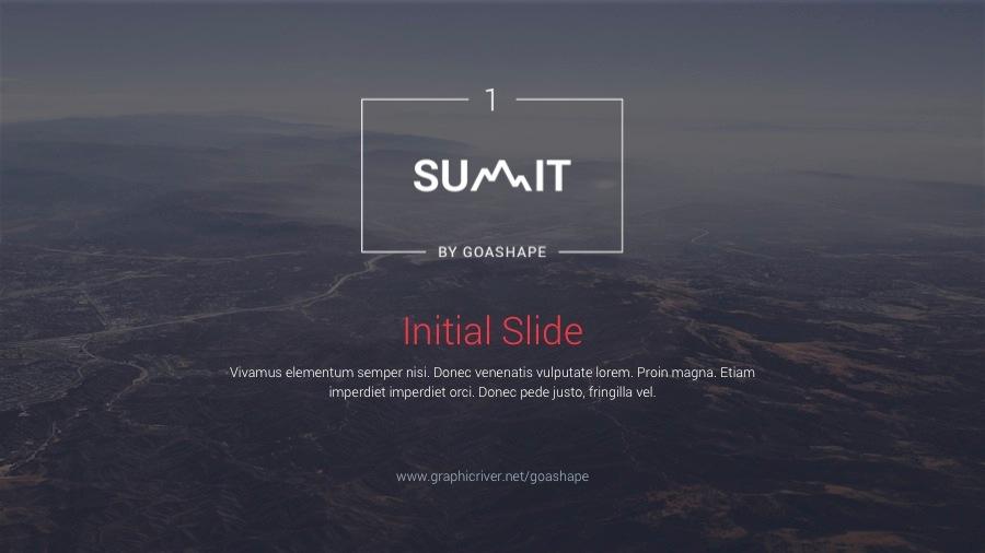 Summit 1 PowerPoint Template
