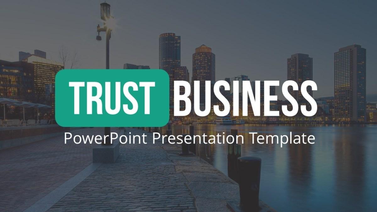 Trust Business PowerPoint Template