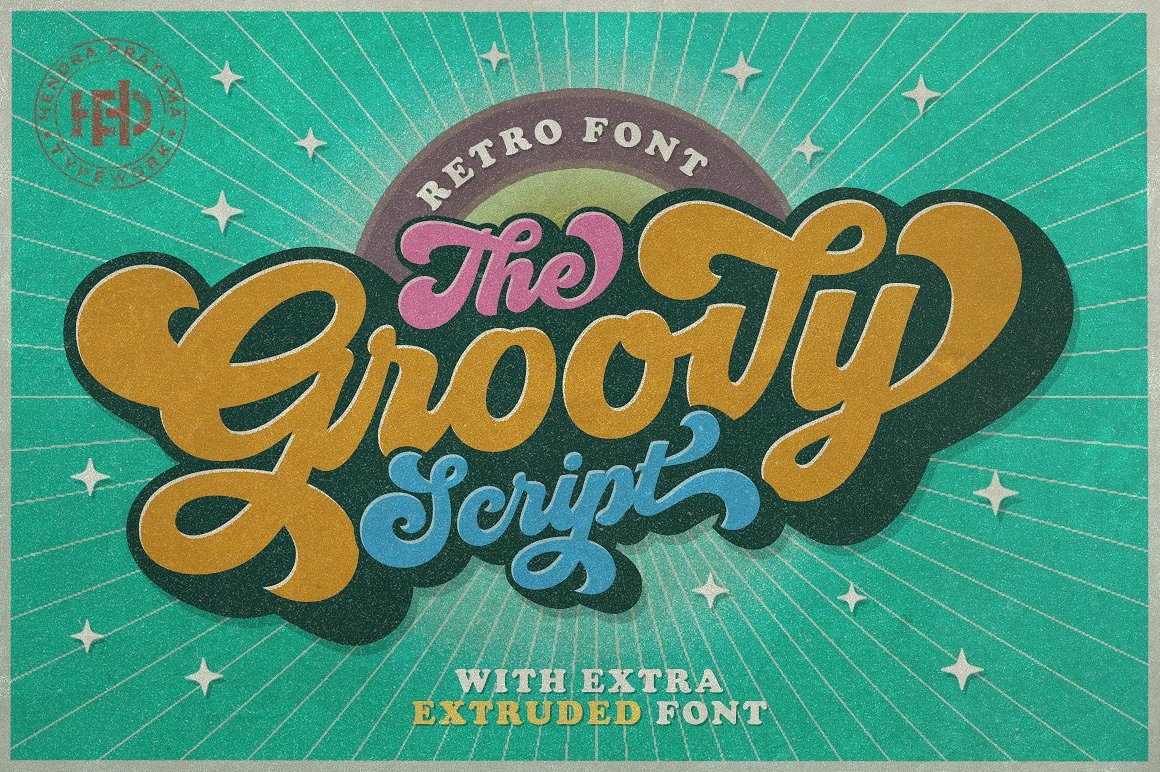 01 - Groovy Free Script Font