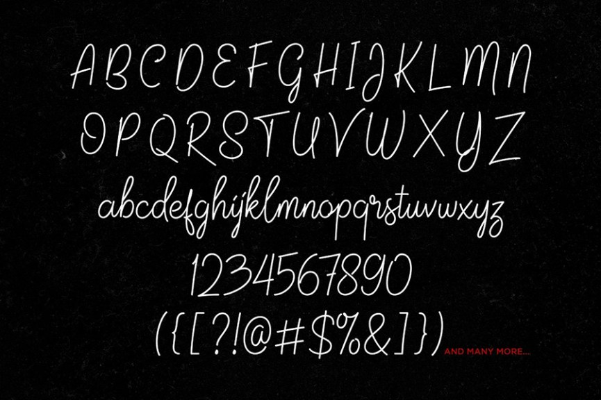 03 - Jalisco Script Free Font Demo