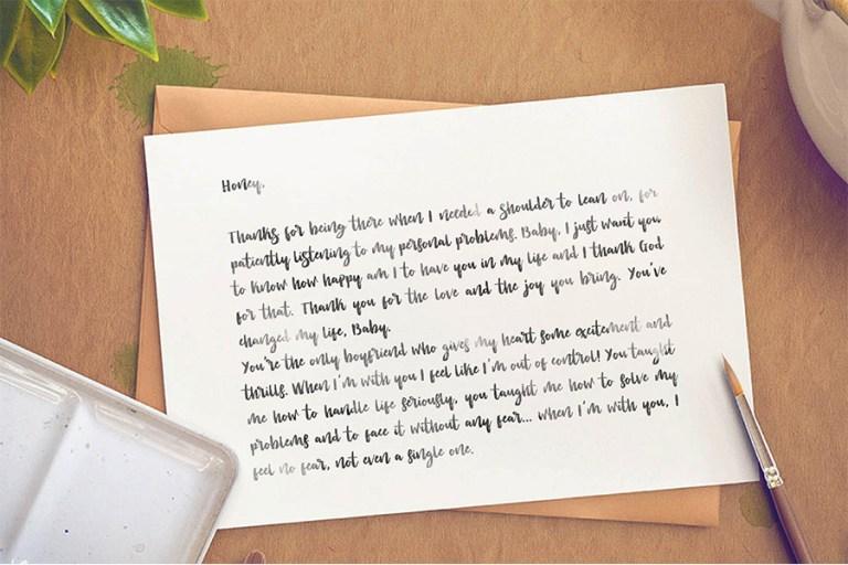 04 - Lovetime Script Font