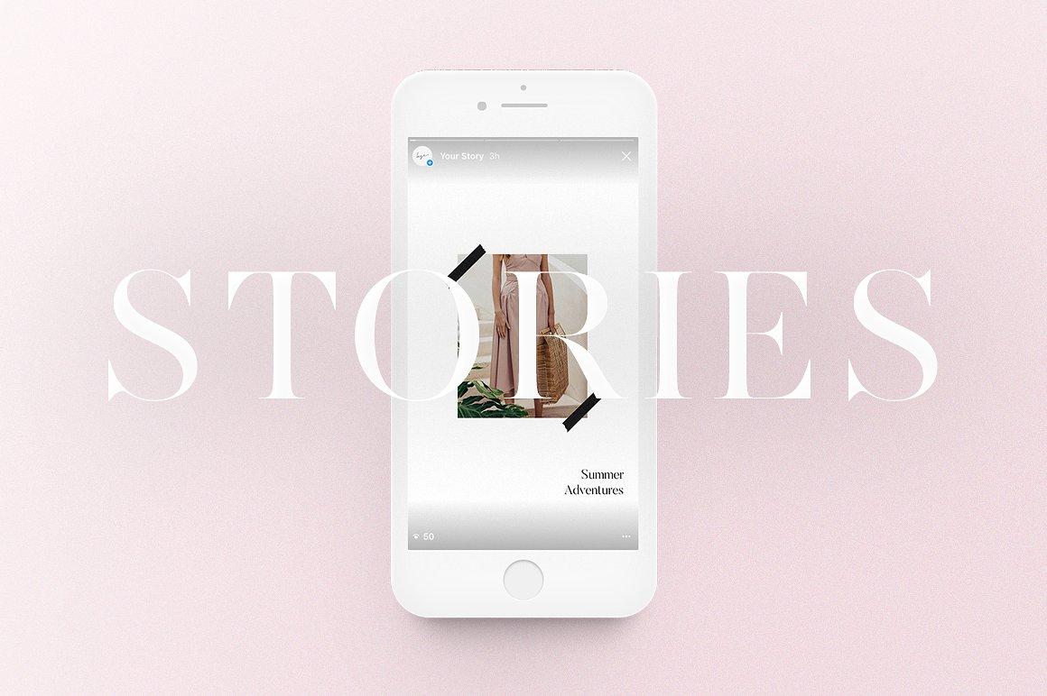 18. Instagram Stories Pack