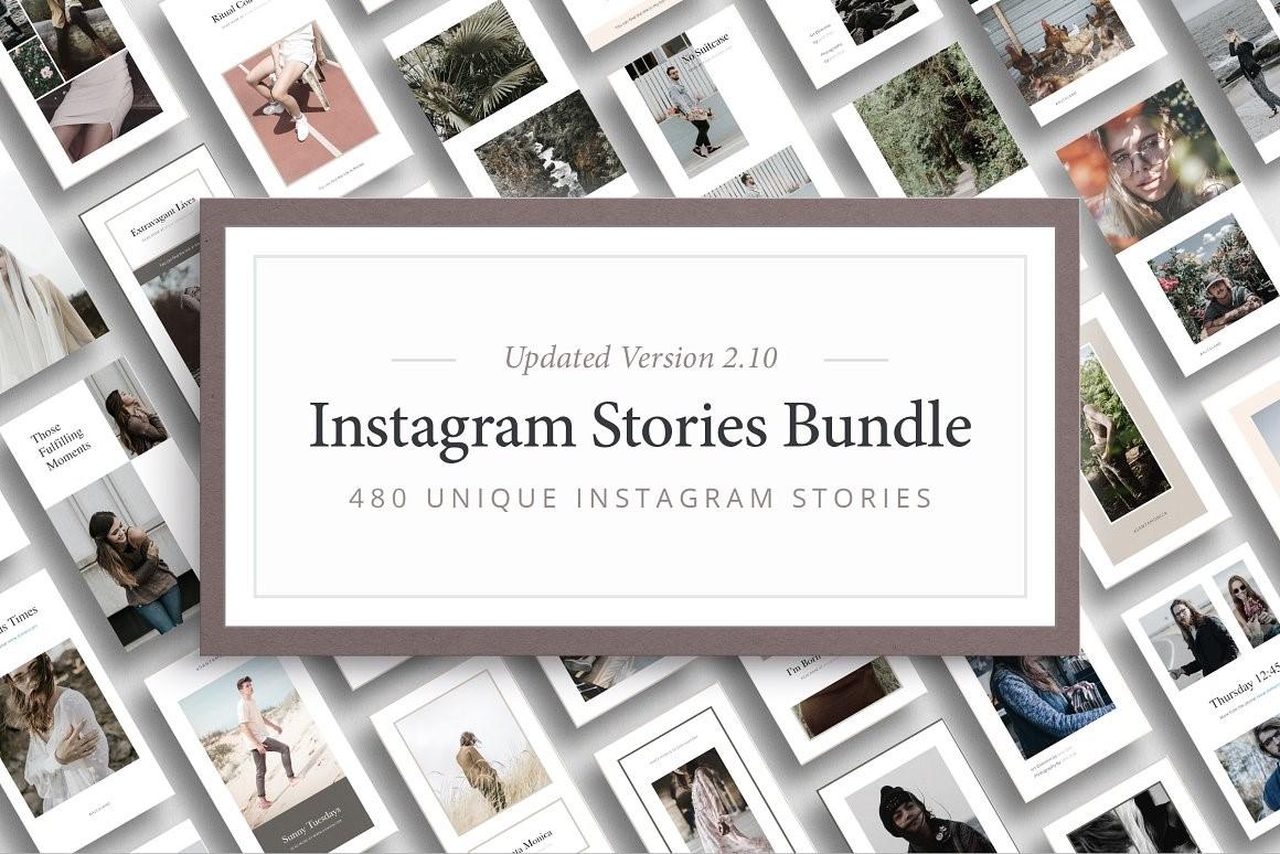 3. Instagram Stories Bundle