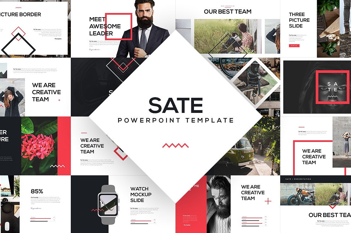30 - SATE PowerPoint Template