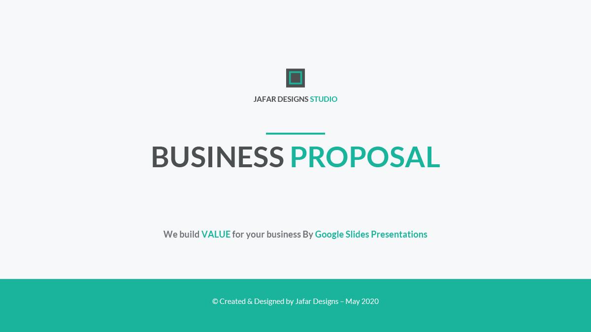 37 - Business Proposal Google Slides Template