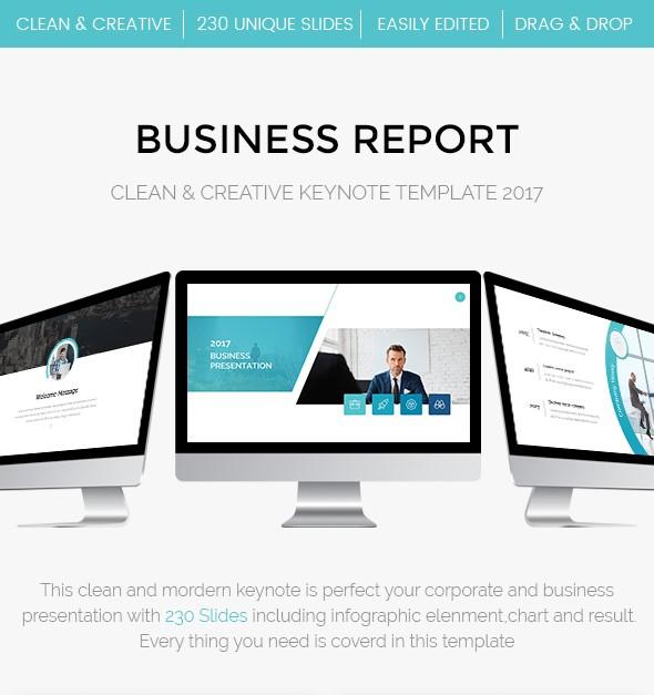 38 - Bundle 2 in 1 Clean Effective Business Keynote Template