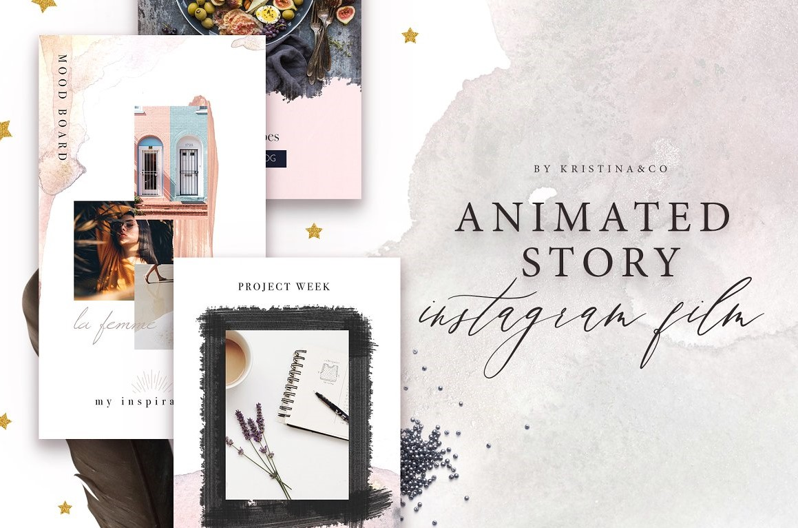 5. Animated Stories for Instagram