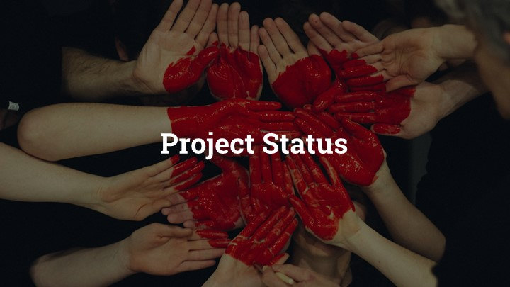 54 - Project Status Google Slides