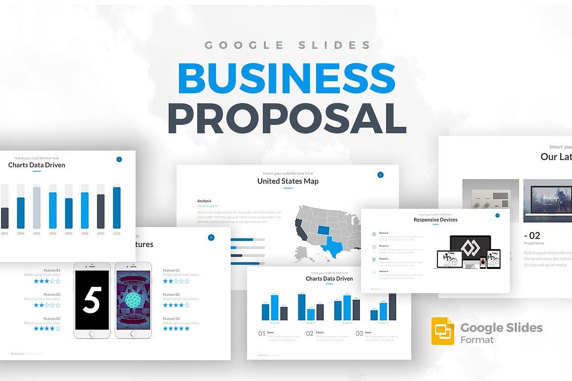 Business Proposal Google Slides Template 1