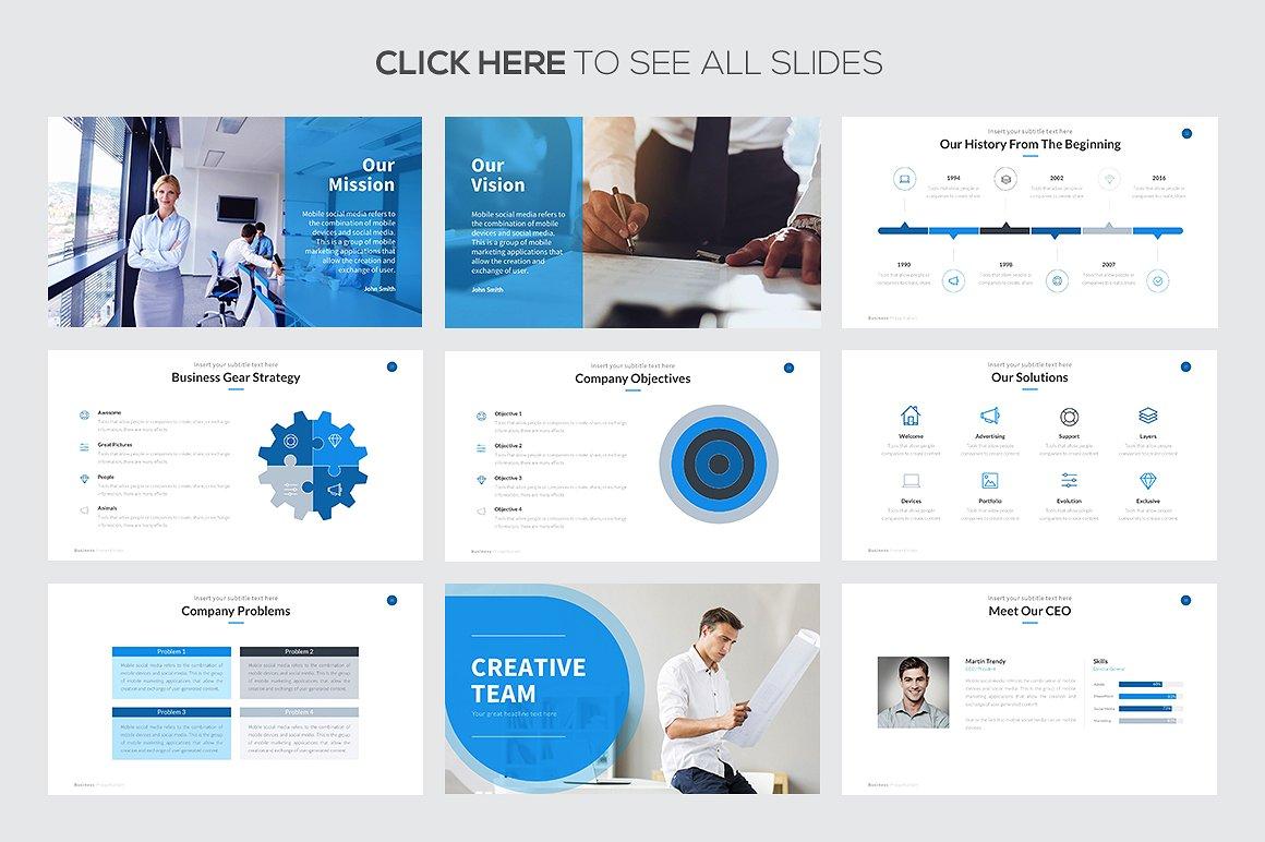 Business Proposal Google Slides Template 3