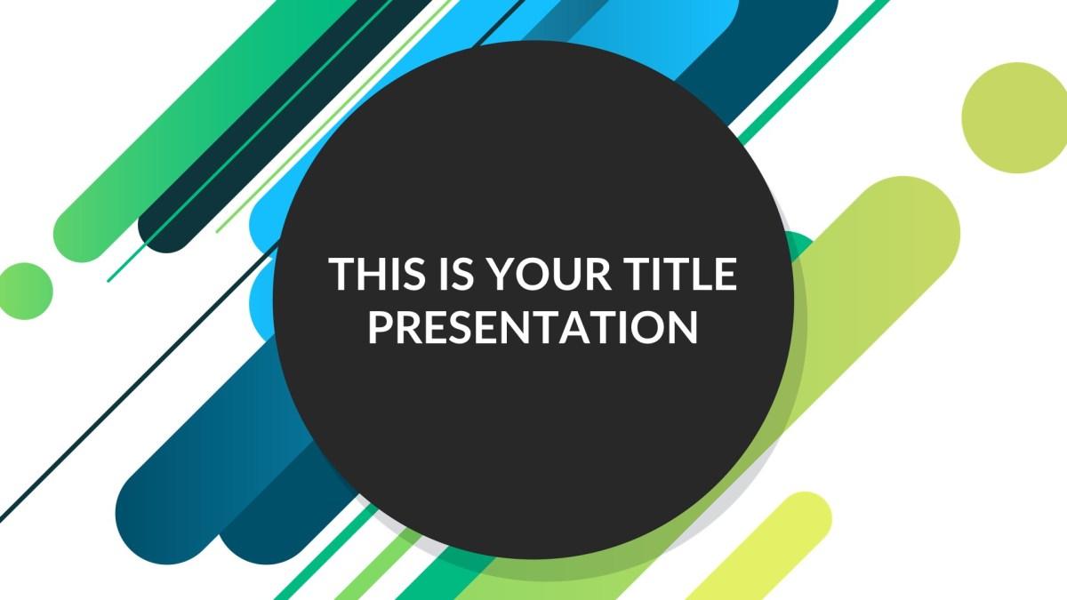 park free presentation template