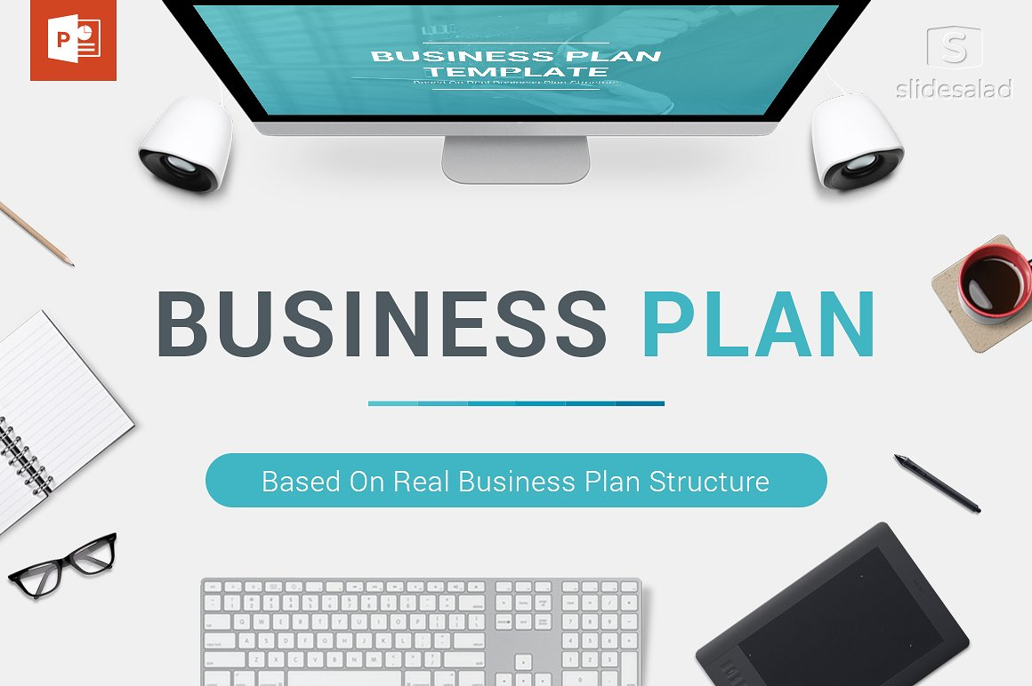 1. Business Plan PowerPoint Template