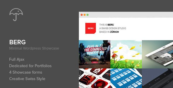 10 - Berg - WordPress Portfolio Theme