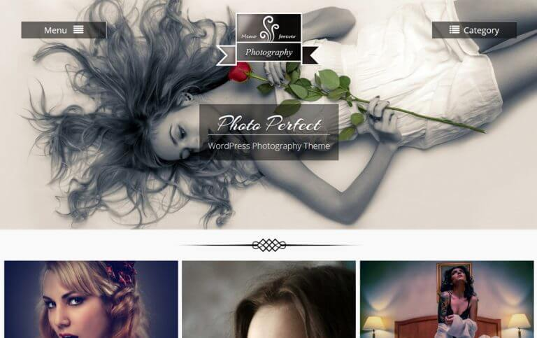 11 - Photo Perfect Responsive WordPress Theme