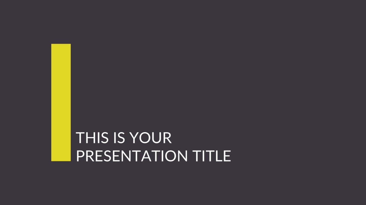 14 - Business Proposal Free Presentation Template